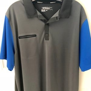 Nike Golf Tour Performance Dri-Fit Polo Size Large